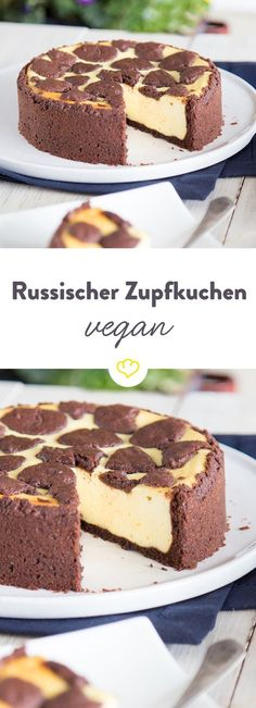 Veganer Russischer Zupfkuchen – Klassiker ganz tierlieb Vegan Cake vegan cake no milk Bolo Vegan, Cake Vegan, Sweet Recipes, Cake Recipes, Dessert Recipes, Vegan Recipes, Pizza Recipes, Bread Recipes, Food Cakes