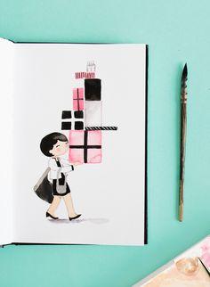 Coco sketchbook illustration - sketchinc