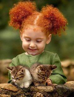 Precious Children, Beautiful Children, Beautiful Babies, Baby Animals, Cute Animals, Mundo Animal, Beautiful Cats, Beautiful Pictures, Cool Cats