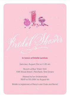 Candy Jar bridal shower invite from Ellie Belle Design shop on #etsy