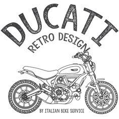 'Ducati Scrambler retro design' Photographic Print by Ducati Scrambler, Scrambler Motorcycle, Motorcycle Art, Bike Art, Motorcycles, Retro Design, My Design, Tire Pressure Gauge, Cafe Racer Build