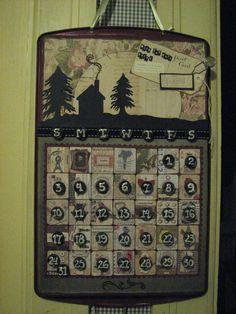 Cookie Sheet Perpetual Calendar - Scrapbook.com