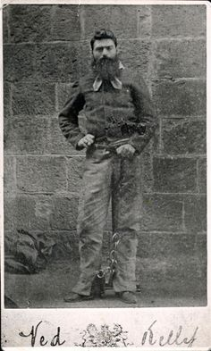 """Edward """"Ned"""" Kelly (June 1854 or 1855 – 11 November was an Irish Australian bushranger. Kelly's legacy is controversial; some consider him to be a murderous villain, while others view him as a folk hero and Australia's equivalent of Robin Hood. New People, Famous People, Old Photos, Vintage Photos, Ned Kelly, The Kelly Family, Australian Bush, Australian People, Historical Photos"""
