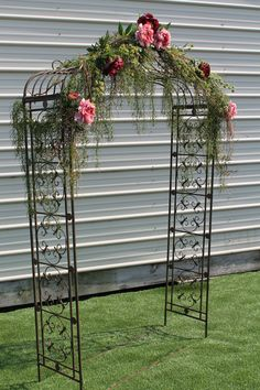 Shade Pergola Ideas Even though age-old within concept, a pergola have been suffering from Metal Wedding Arch, Wedding Ceremony Backdrop, Trendy Wedding, Rustic Wedding, Our Wedding, Wedding Stuff, Wedding Trellis, Wedding Arbors, Wedding Venues