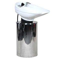 silver shampoo chair | portable shampoo bowl shampoo chair portable shampoo sink used salon ...