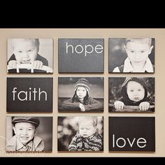 What a cute idea for pictures!