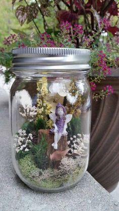 Fairy garden, fairies, garden fairies, fairy decor, miniature fairies, fairy…                                                                                                                                                                                 More