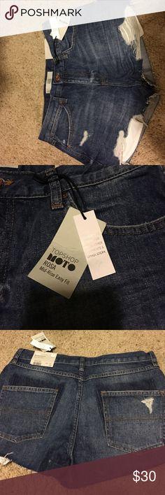 Shorts Super cute and stylish Rosa mid rise Topshop Shorts Jean Shorts