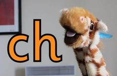 Consonant digraph 'ch' - with the lovely Geraldine Giraffe H Brothers, Phonics Videos, Spelling Ideas, Consonant Digraphs, Phonics Sounds, Preschool Literacy, The Ch, Short Vowels, Learning Letters