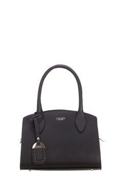 Lazaro - Mini Bag Venecia negro y blanco
