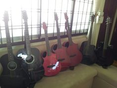 (Left-to-Right) Composite Acoustics Quintet: X-Performer, Vintage-Performer, Cargo, Xi-Performer, GXi   ... ... ... Blackbird Super OM 2.0 ... ... ... Emerald X20-OS Praise And Worship, Blackbird, Carbon Fiber, Guitars, Emerald, Om, Vintage, Vintage Comics, Emeralds