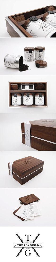 The Tea Guild Packaging Design.