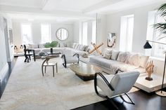 Get the LOOK: A gorgeous, Kelly Behun designed, Park Ave apartment.