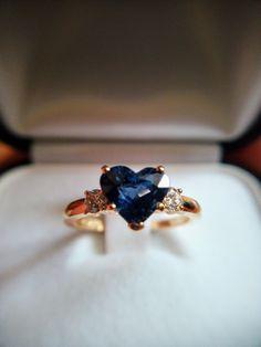 #sapphire #gold #handmade #goldsmith #diamonds #gift