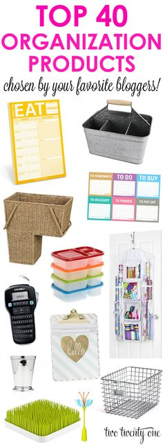 Top Organization Products (Two Twenty One) Organisation Hacks, Organization Station, Office Organization, Organize Your Life, Organizing Your Home, Organizing Tips, Organising, Do It Yourself Home, Staying Organized