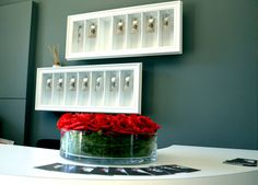 reception keys box