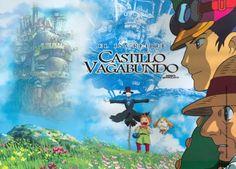 El Castillo Vagabundo (2004) animación japonesa del Studio Ghibli dirigida por Hayao Miyazaki,