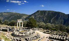 Oráculo de Delfos, el Ombligo del Mundo.