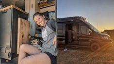 The ULTIMATE HIGH-TECH ADVENTURE VAN CONVERSION 🚐 // Packed With INSANE FEATURES 🔥 - YouTube Van Conversion Guide, Van Living, Campervan, Van Life, Conversation, Vans, Tech, Adventure, Youtube