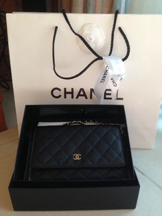 Need this Chanel WOC  (Note: this pic does not belong to me. All credits go to the owner)