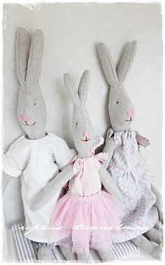 Make a bunny tutorial.