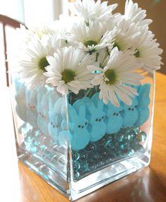 Marshmallow Peeps Centerpiece