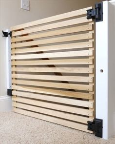 How To Make End Grain Cutting Boards from Scrap Wood — Crafted Workshop Diy Dog Gate, Diy Baby Gate, Pet Gate, Easy Projects, Home Projects, End Grain Cutting Board, Cutting Boards, Wooden Baby Gates, Stair Gate