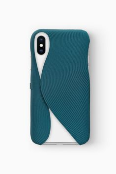 FOLD Case for iPhone X in Blue, Design by Matthijs Kok for Freshfiber Pattern Design, Print Design, 3d Pattern, Patterns, Carton Design, Art Case, Cool Iphone Cases, Bath And Beyond Coupon, Industrial Design