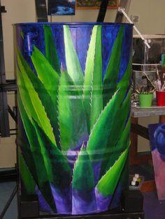Painted Barrels - RainLife Rain Barrels