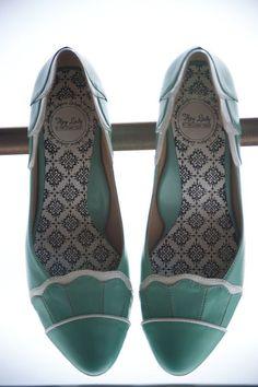Inspiración para tu boda: Zapatos Cómodos!