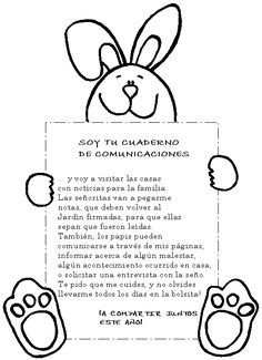 CARATULA PARA CUADERNO DE COMUNICACIONES | maestrasanjuaninas 1st Day Of School, Sunday School, Kindergarten Fun, Preschool, Letter To Parents, Teacher Notes, Parenting Memes, Teaching Activities, Mom Humor