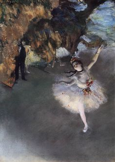 Edgar Degas - Ballerina sul palco - 1878 - pastello su carta - 60 x 44 cm - Musée d'Orsay, Parigi