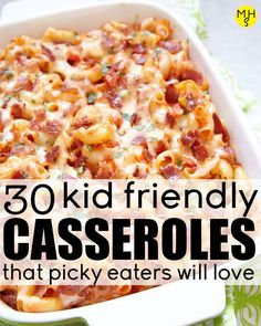 fun kid friendly casseroles are perfect for picky eaters and young kids th. These fun kid friendly casseroles are perfect for picky eaters and young kids th., Homemade baby foods,These fun kid friendly casseroles are perfect for picky eat. Healthy Meal Prep, Healthy Dinner Recipes, Healthy Cooking, Healthy Kid Friendly Recipes, Kid Recipes Dinner, Food Recipes For Kids, Food For Kids, Kid Friendly Chicken Recipes, Crockpot Recipes For Kids