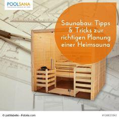 Saunabau: Tipps & Tricks zur richtigen Planung einer Heimsauna #sauna #saunabau #planen #wellness