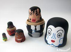 Michael Jackson Nesting Dolls, second view