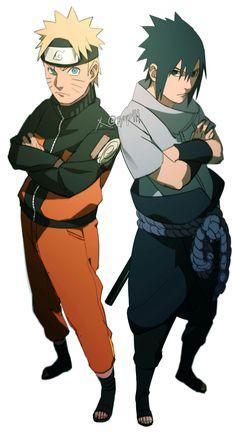 Sasuke Uchiha x Naruto Uzumaki/Namikaze (SasuNaru/NaruSasu) Naruto Shippuden Sasuke, Naruto Kakashi, Anime Naruto, Boruto, Sasunaru, Sasuke Uchiha, Naruto Teams, Narusasu, Naruhina