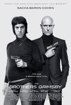Sacha Baron Cohen and Mark Strong in The Brothers Grimsby (2016)