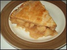 Recette Tarte aux pommes, caramel et érable