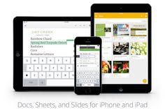 Google actualiza su suite ofimática para iOS - http://www.actualidadiphone.com/2014/12/09/google-actualiza-su-suite-ofimatica-para-ios/