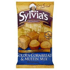 Sylvias Golden Cornbread And Muffin Mix 85 OZ -- Check this awesome product by going to the link at the image.