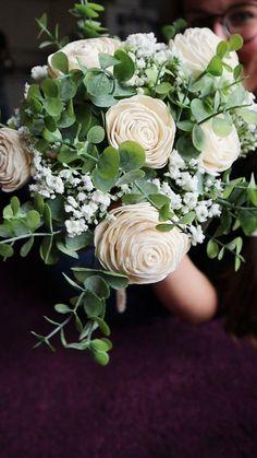 Simple Wedding Bouquets, Diy Wedding Flowers, Diy Wedding Decorations, Flower Bouquet Wedding, Floral Wedding, Diy Wedding Crafts, Wedding Floral Arrangements, Affordable Wedding Flowers, Diy Your Wedding