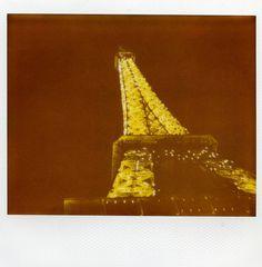 {Paris Polaroid - sparkling Eiffel Tower} by buttercup caren, via Flickr