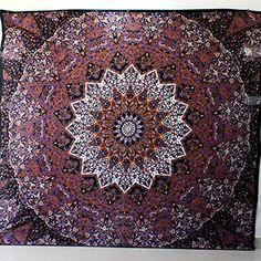 Psychedelic Tapestry hippie tapestry mandala tapestry wall hanging wall decor... Handicrunch http://www.amazon.co.uk/dp/B00PIXD5BK/ref=cm_sw_r_pi_dp_U.Z4wb1QJDYTS