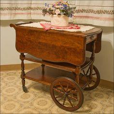 Antique Tea Cart | Flickr - Photo Sharing!
