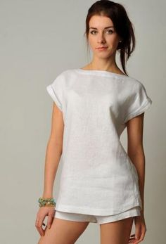 78f38710e Trend blouse with the lowered shoulder and a boat neckline is a treasure  for fashionable collection!