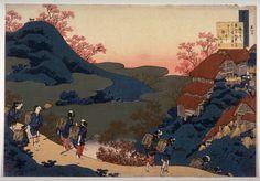 Sarumarudayu по Katsushika Hoki (1760-1849, Japan)