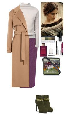 """""""Fall outfit"""" by eliza-redkina ❤ liked on Polyvore featuring True Decadence, Rick Owens, CHARLES & KEITH, Jason Wu, Olympia Le-Tan, Clinique, Essie, Dolce&Gabbana, Bobbi Brown Cosmetics and StreetStyle"""