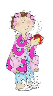 Good Morning Glory (Free Dearie Dolls Digi Stamps)