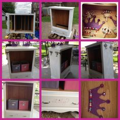 Repurposed Dresser Into A Costume Closet For Lily