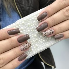 Amazing Animal and Birds Nail Art Designs Cheetah Nail Designs, Cheetah Nails, Nail Art Designs, French Manicure Nails, Manicure Colors, Manicure And Pedicure, Fancy Nail Art, Fancy Nails, Pretty Nails